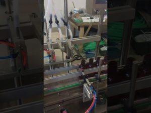 4 Köpfe kleine Flasche Flüssigkeitsfüllmaschine