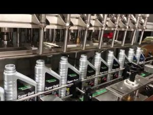 vollautomatische Kolbenschmieröl Schmierölfüllanlage