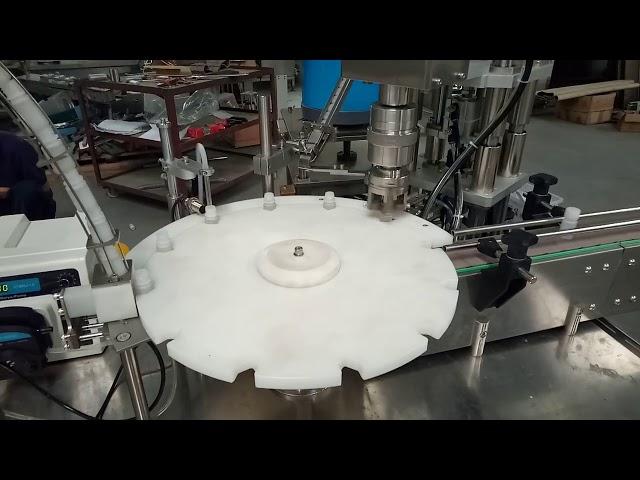 heißer Verkauf vollautomatisch 10ml 20ml 25ml Reagenzgläser Füllkappe Verpackungsmaschine