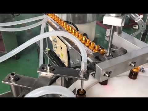 automatische 5-30 ml Glastropfer kleine Flasche Augentropfen Fläschchen e Flüssigkeitsfüllkappe Maschine