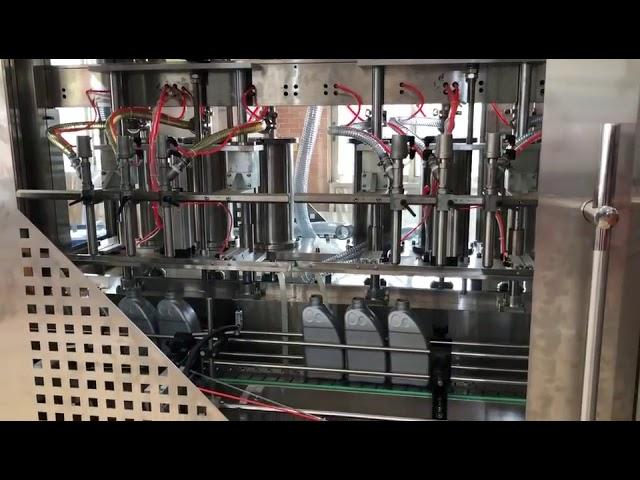 automatische Schmierfettfüllmaschine