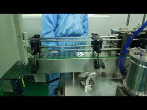 30 ml bis 100 ml zweigleisige Füll- und Schraubmaschine für runde Flaschen