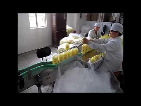 automatische Kolben Flüssigseife Handwäsche Händedesinfektionsmittel Füllmaschine