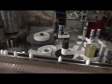 automatische Flasche waschen Füllkappe Maschine Augentropfen füllen Produktionslinie