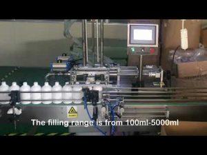 automatische 2-Düsen-Servo-Shampoo-Flaschenfüllmaschine