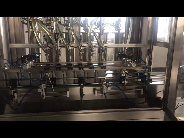 Hochpräzise 5l Motoröl Schmierflasche Füllmaschine