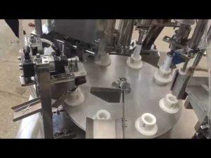 automatische weiche Plastikpaste, Salbe, Zahnpasta, Schlauchfüllversiegelungsmaschine