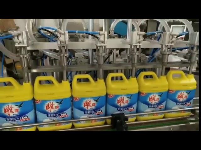 automatische 8-Kopf-Waschmittel-Shampoo-Flaschenfüllmaschine