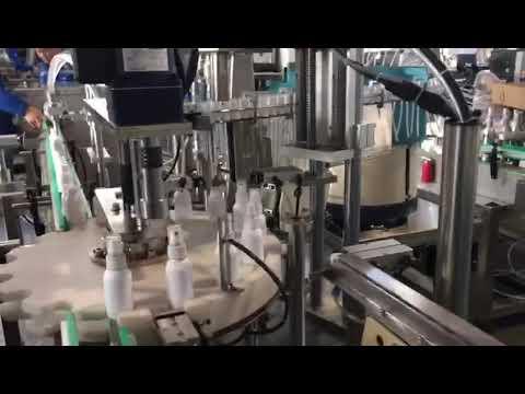 Desinfektionsmittel-Abfüllmaschine, Ethanol-Desinfektionsmittel-Abfüllmaschine