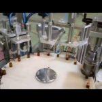 automatische e flüssige 10ml flaschenfüllung steckkappenmaschine