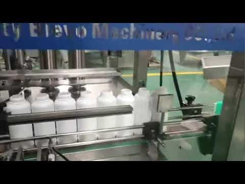 Abfüllmaschine für Waschmittelflaschen, Produktionslinie für Waschmittelflüssigkeiten