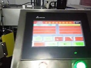 automatische computergesteuerte Etikettendruckmaschine Rollenaufkleber Plastiktüte Etikettenmaschine