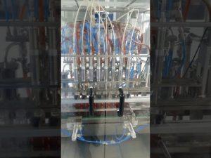 volumetrische flüssige Speiseöl-Haustierflaschen-Füllmaschine