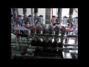 lineare automatische 4-Kopf-Kolbenflasche viskose Ketchup-Sauce flüssige Verpackungsfüllmaschine