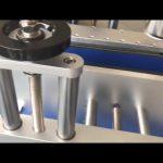 doppelseitiger Etikettieraufkleber automatische runde Flaschenetikettiermaschine