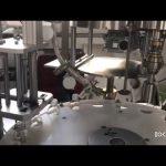 automatische plc gesteuerte Maschine zum Verstopfen und Verschließen von Flüssigkeitsflaschen