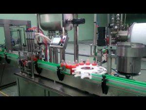 Automatische Marmeladenfüll- und Verschließmaschine mit 4 Köpfen