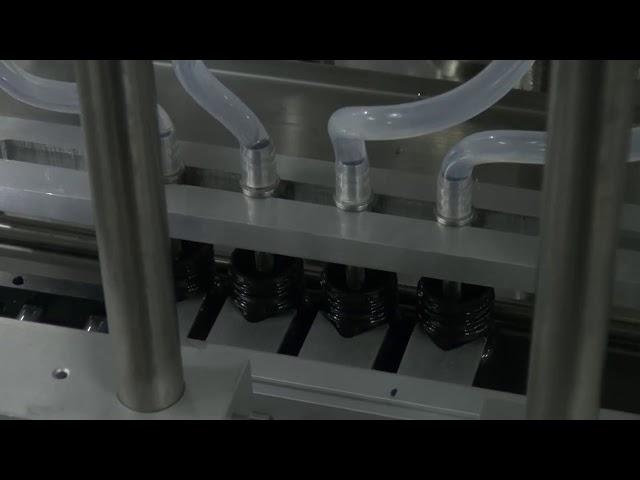 10ml-5l 6 Kopf automatische Desktop genaue Flüssigkeitsfüllmaschine