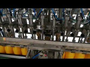 12 Köpfe automatische Flaschenfüllmaschine für Ketchupöle Sauce Kosmetik