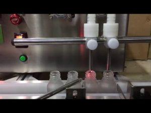 Mini-Größe Tischplatte automatische kleine Fläschchen ätherische Öl flüssige Füllmaschine zu verkaufen