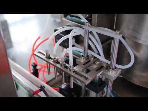 vollautomatische Nagellackflasche cbd Hanfölfüllmaschine zu verkaufen
