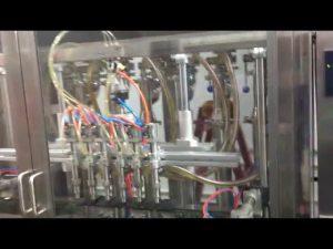 automatische Glasflaschen Olivenölfüllmaschine