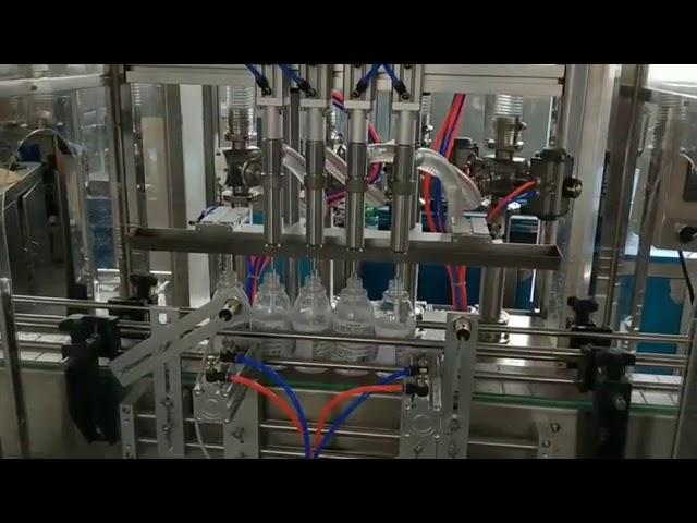 automatische Händedesinfektionsmittel-Alkoholwaschmittel-Abfüllmaschine