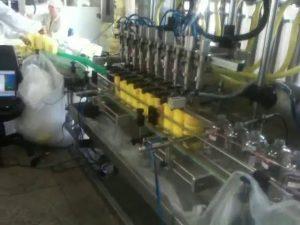 automatische Kolbentauchdüsen Shampoo-Füllmaschine