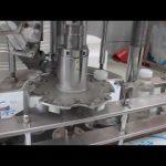 automatische Einkopf-Plastikflaschen-Rotationsverschließmaschine