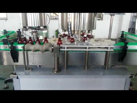 vollautomatische Deckelkappenmaschine aus Aluminium