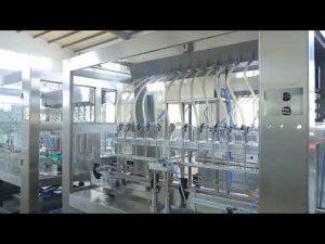 Fabrik automatische lineare viskose flüssige Speiseölflasche Gefäßfüllmaschine