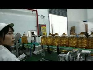 Schmiermobilmotor Hydraulikautopumpe Ölflasche Füllen Produktionslinie Maschine
