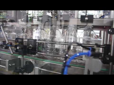 automatische Händedesinfektionsgel-Flüssigkeitsfüllmaschine