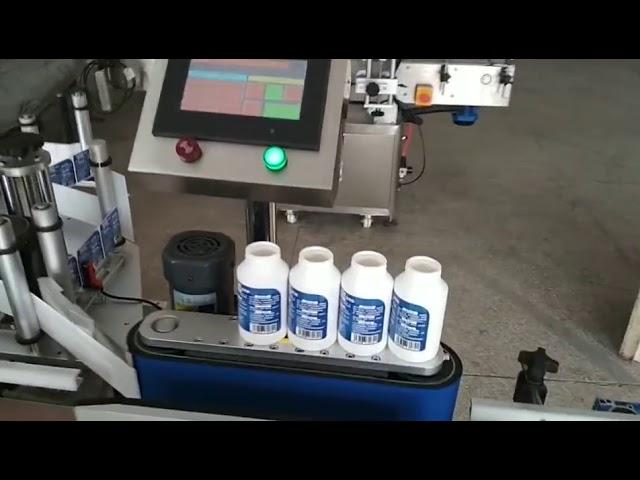 Auto Selbstaufkleber Runde Medizin Etikettiermaschine