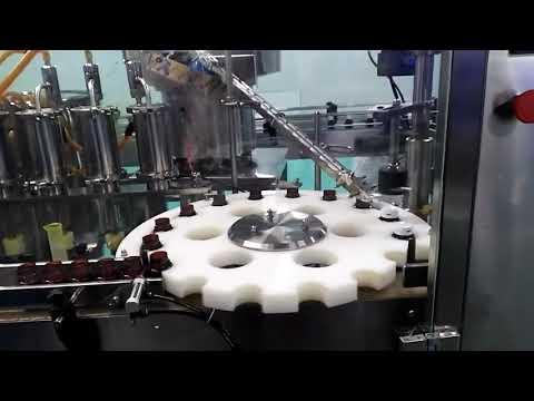 Eiszapfen Salzsäure hdpe Foundation Durchflussmesser Ölfüll- und Versiegelungsmaschine