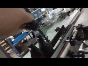 automatische Inline-Glasdeckelmaschine mit gerader Glasflasche und Aluminiumkappe